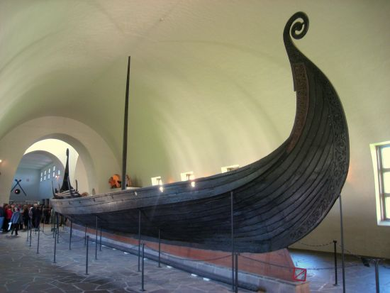 The Oseberg Viking ship museum in Oslo