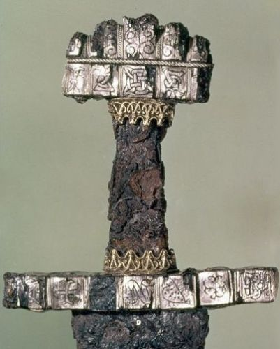 Handle of sword found in Haithabu