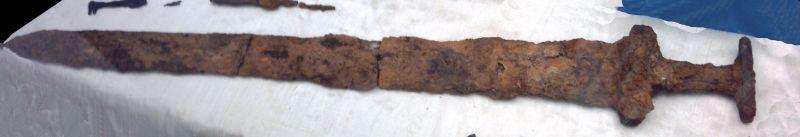 Viking sword found in Repton