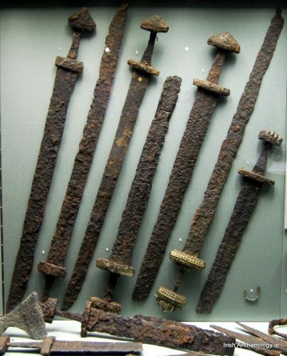 Viking sword from Kilmainham in Dublin