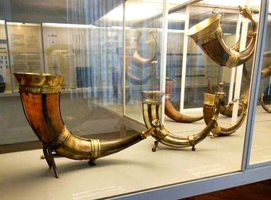 Drinking Horn of the Viking Age