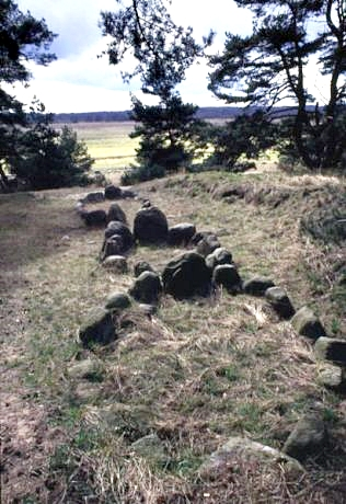 Viking graves at Altes Lager in western Pommern