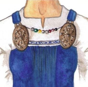 Use of Viking Age brooches