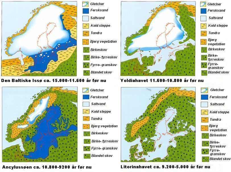 The development of the Baltic Sea