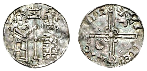 Coin minted in Lund by Sweyn Estridson