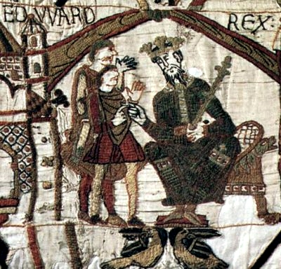 Edward the Confessor on the Bayeux Tapestry