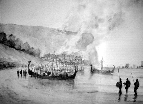 The Norwegian attack on Scarborough in 1066