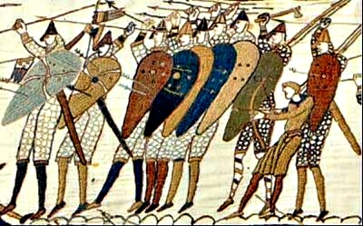 The Tingmen's army in the Battle of Hastings