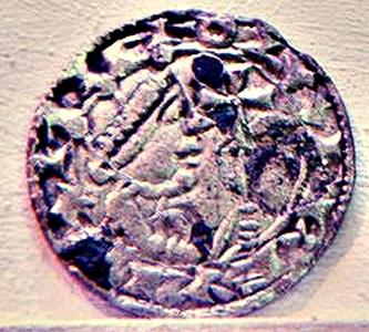 Coin minted by Oluf.