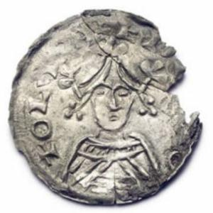 Coin minted by Oluf Hunger