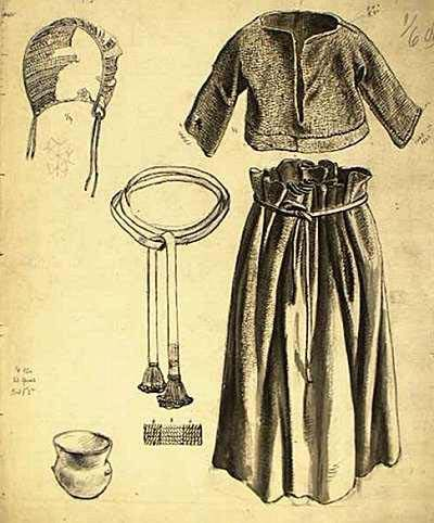 Female clothing from Borum Eshøj