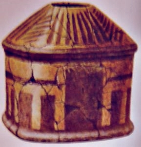 Urn from the Bronze Age found at Stora Hammar in Scania
