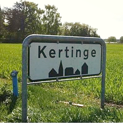 The village Kertinge