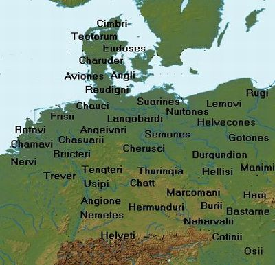 Germanic tribes after Tacitus