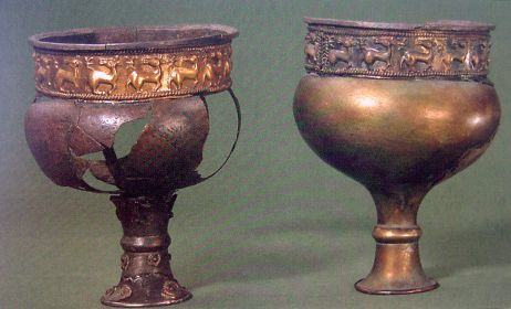 Two silver cups from Valløby