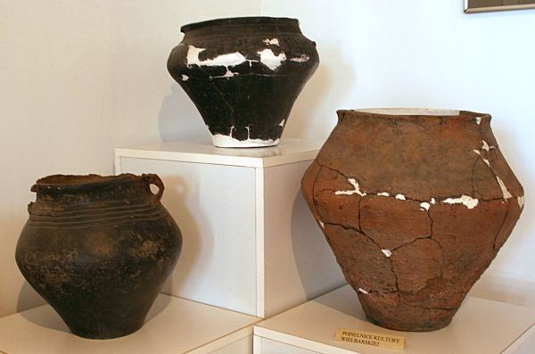 Ceramics from the  Wielbark culture