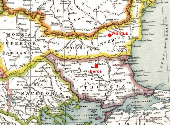 Roman provinces on  Balkan