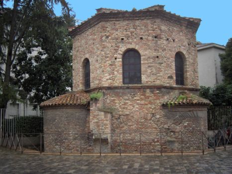The Arian Baptistery in Ravenna