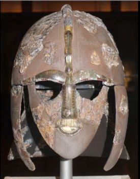 Helmet from the Sutton Hoo ship