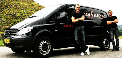 A van from Dan Electric