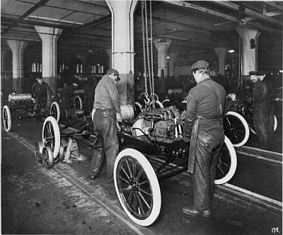 Ford T production line