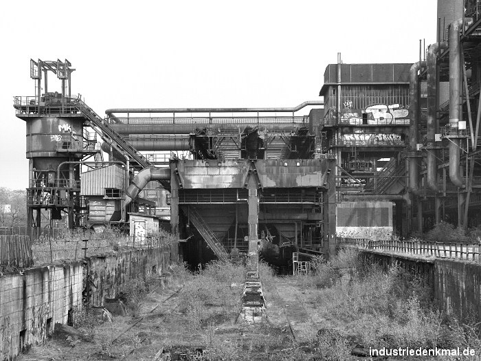 The now closed down steelworks Huttewerk Phoenix in Dortmund, with permission from Industriedenkmal.de