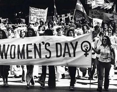 Demonstration on the International Women's day