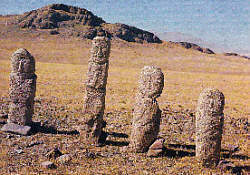 Stone men from pressent Mongolia