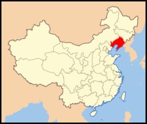 The modern province Liaoning