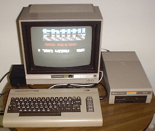 The English Commodore 64 system