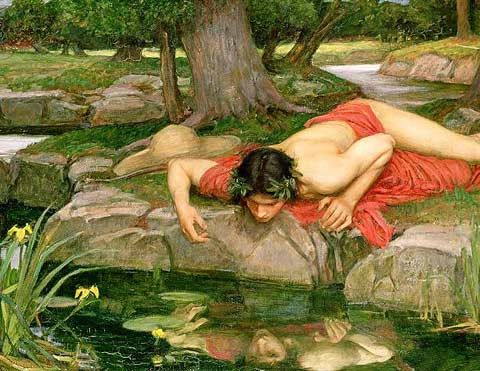 The nymph Narcissus