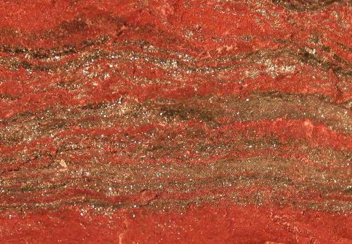Banded iron formations from Michigan in USA