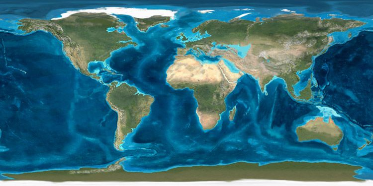 World of the Miocene 20 million years before present