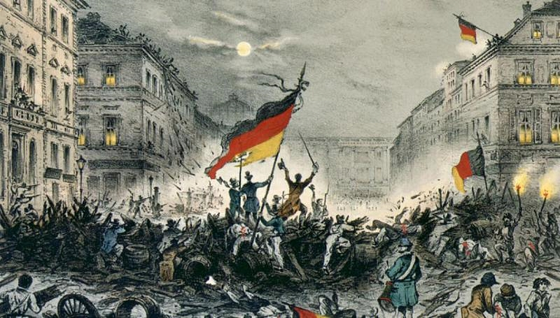 1848 clashes in Berlin