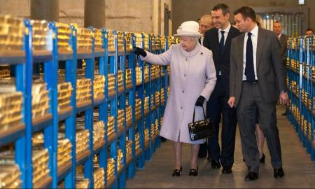 Bank of England's gold holdings