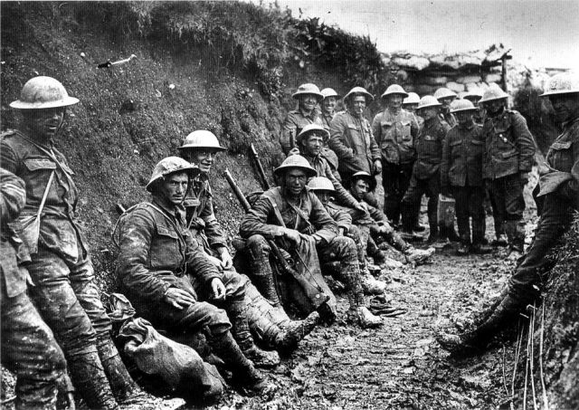 Royal Irish Riffles ved Somme Juli 1916