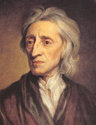The philosopher John Locke 1632 - 1704