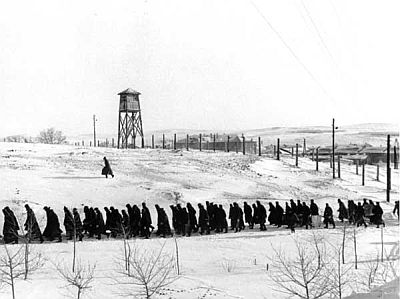 Prison Camp in Northern Russia