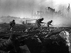 The battle of Stalingrad was a turning point in the Second World War. The Losses on both sides were enormous