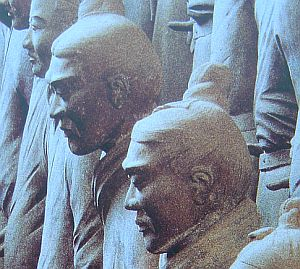 Some of the Terra Cotta soldiers look rather Indo-European