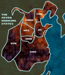 The seven original Chinsese states