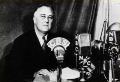 The U.S. President Franklin D. Roosevelt