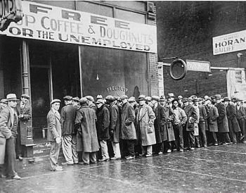 Unemployed from the thirties