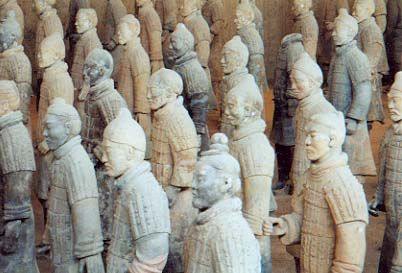 Qin Shi Huang's terracotta soldiers are all different