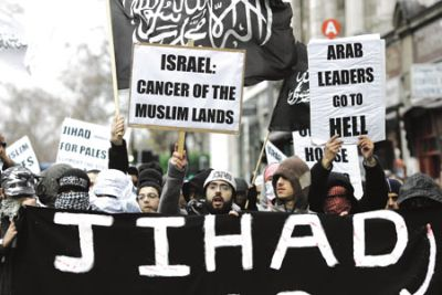 The Muslim concept of jihad -  holy war