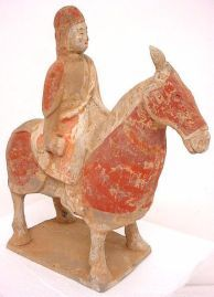 Cavalry man from Eastern Wei