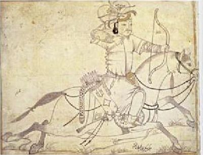 Mounted Mongol
