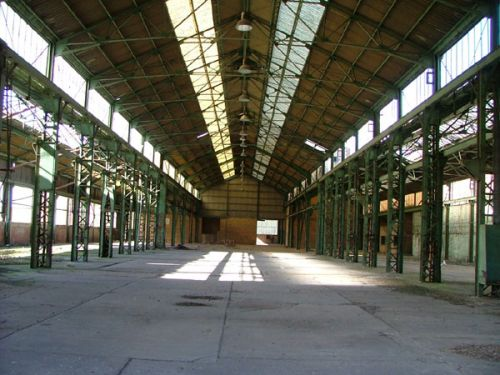 The assembly shop of the Belgian shipyard Beliard & Crighton - closed 1988