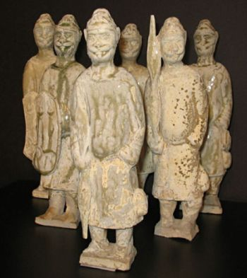 A group of soldiers mentioned being Xianbei soldiers from the Northern Zhou period.