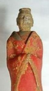 A Xianbei king or emperor